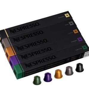 NEW SEALED Nespresso Variety Pack Capsules, 50